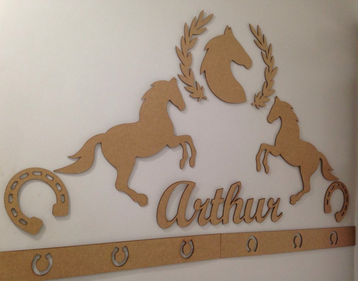23dc8303c painel de parede completo mdf cru cavalos country decoração. Carregando  zoom.