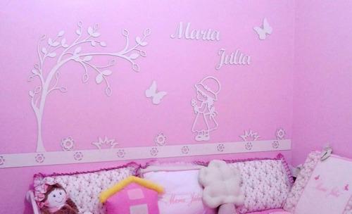 painel de parede mdf cru camponesa quarto do bebê