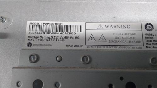 painel de plasma pdp  lg usada 42pg20r