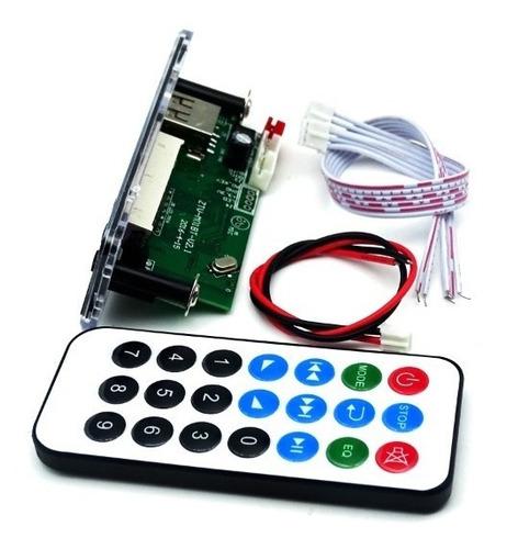 painel decodificador usb módulo bluetooth leitura por pasta