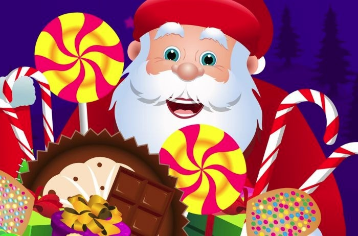 Painel Decorativo Festa Natal Papai Noel Fim De Ano Mod2