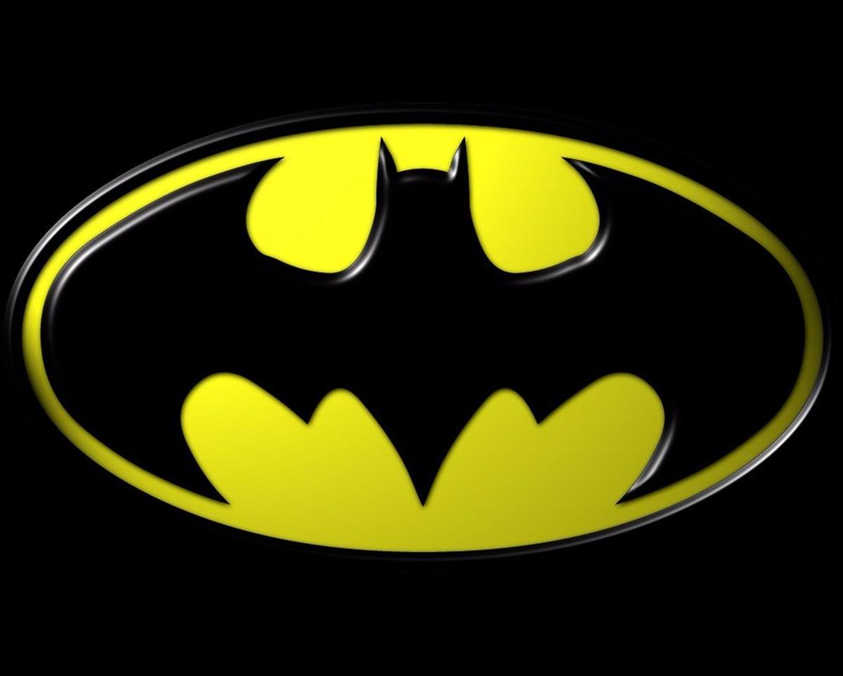 Painel Em Lona Batman 2x150 Ref Simbolo Amarelo 48h R 7827