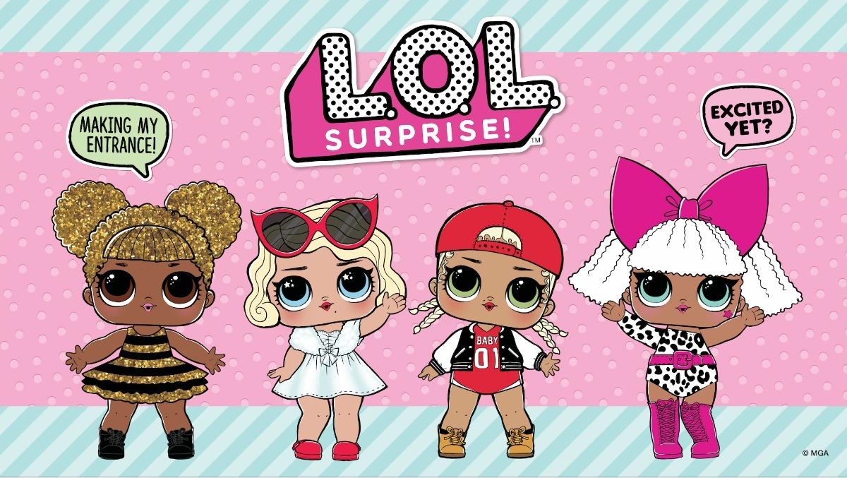 Painel Em Lona Doll Lol Surprise