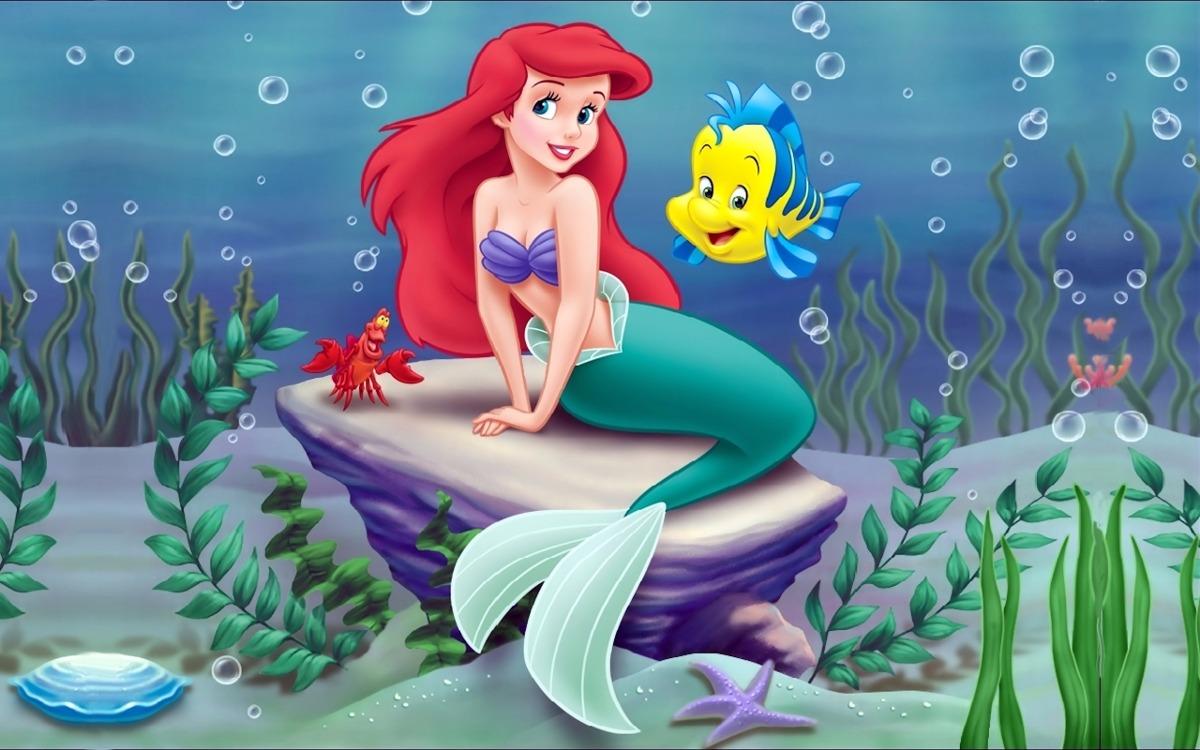 Painel Festa Aniversario Pequena Sereia Ariel 6 00 X 3 00m R