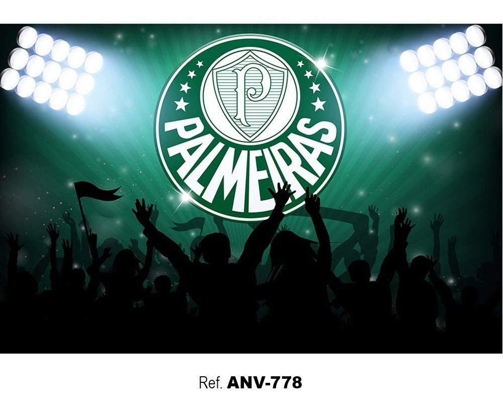 Painel Festa Aniversário Tecido Time Palmeiras - 2,2x1,5m - R$ 139,00 em  Mercado Livre