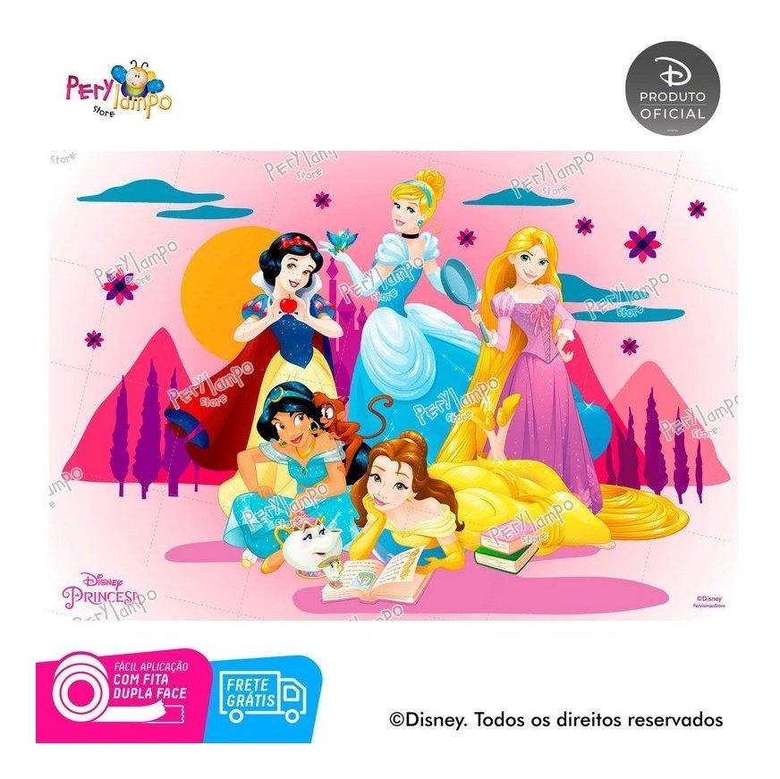 Painel Festa Decorativo Princesas Desenho Tamanho 2 20x1 45m R