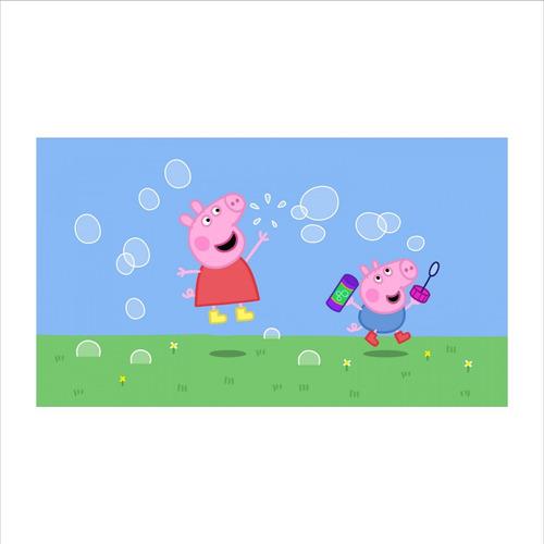 painel festa infantil 150x100cm lona peppa pig