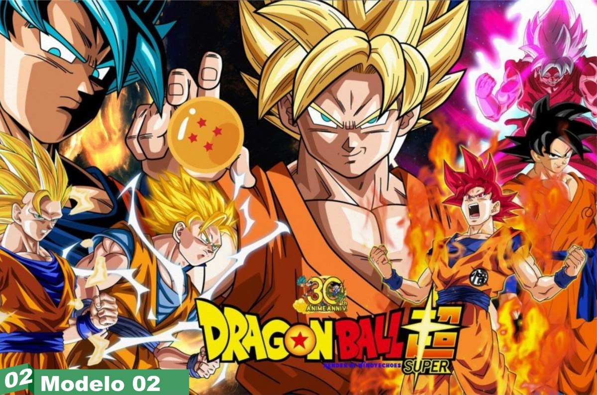 Painel festa lona anivers rio dragon ball super anime r - Imagens em hd de animes ...