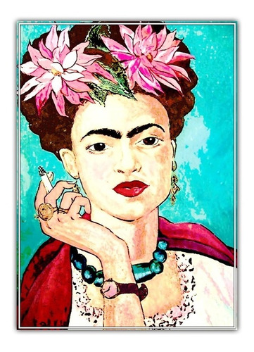 painel foto papel 60x84cm decorar festa mexicana frida kahlo