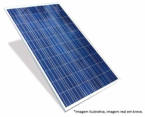painel fotovoltaico policristal 100w 12v célula placa solar