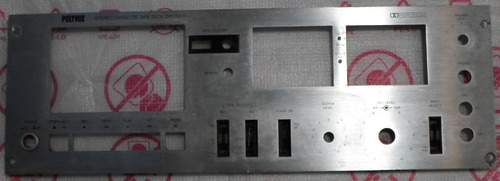 painel frontal tape deck polivox cp750d
