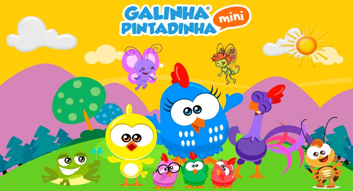 Painel Galinha Pintadinha Mini Gpmini 07 2x1 50 R 89 99 Em