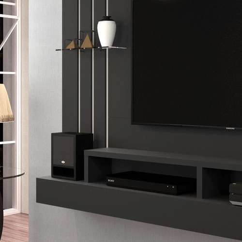painel home para tv até 47 polegadas outlet 160cm - 2 cores