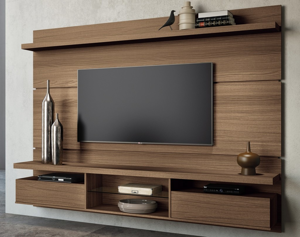 Painel Home Theater Suspenso Livin 2 2 Mocaccino Hb M 243 Veis