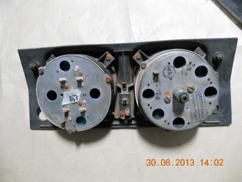 painel instrumento corcel 1 69 à 77acrilico interno trincado