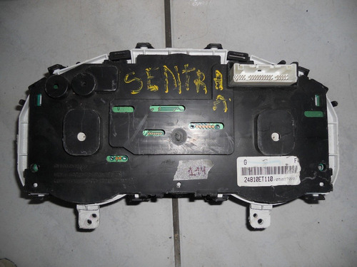 painel instrumento nissan sentra s/acrilico(24810et110)