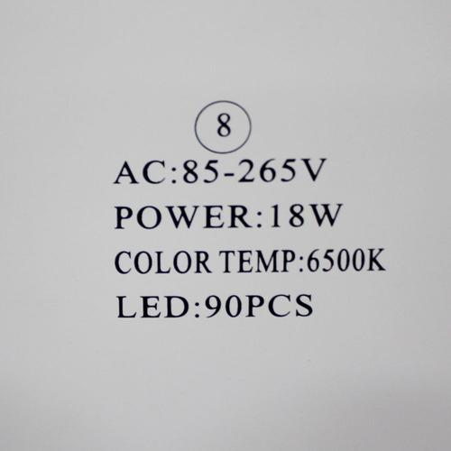 painel led 18w p/ forros de madeira pvc gesso embutir