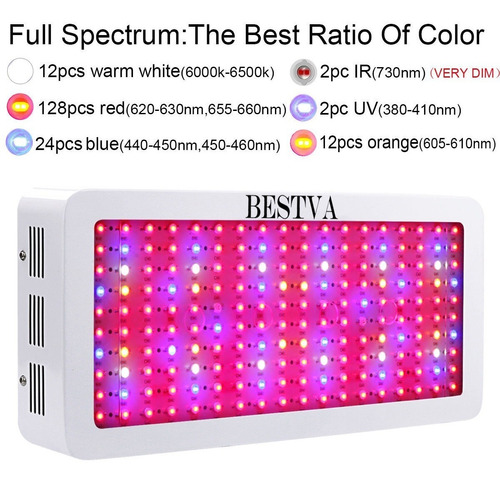 painel led grow 1800w original bestva