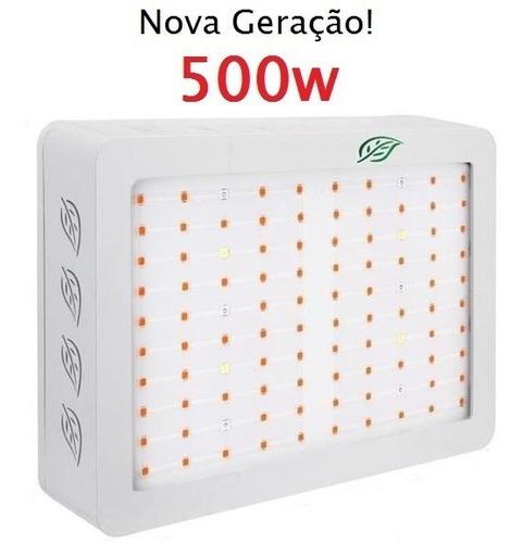 painel led grow castnoo super 500w original pronta entrega
