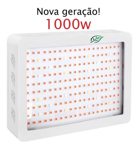 painel led grow super chip 1000w 50% mais lumens modelo novo