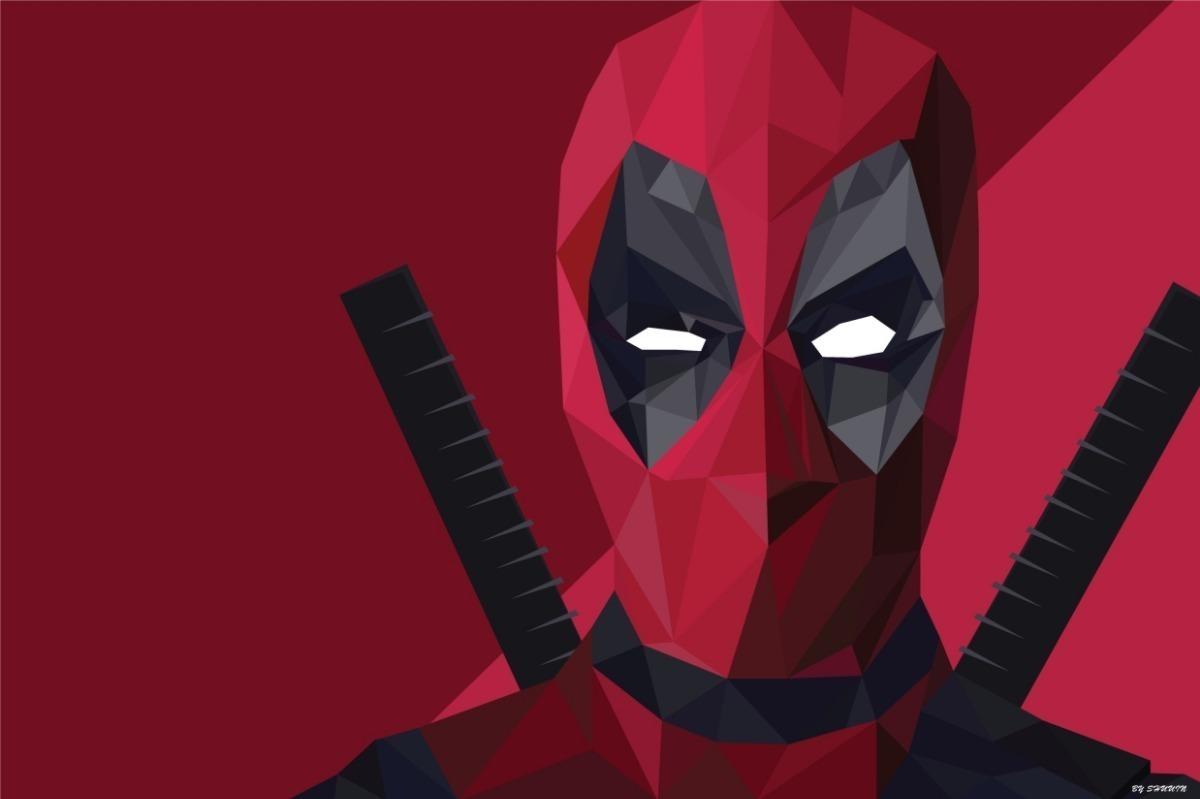 Painel Lona Festa Aniversário Deadpool Desenho Top Heróis