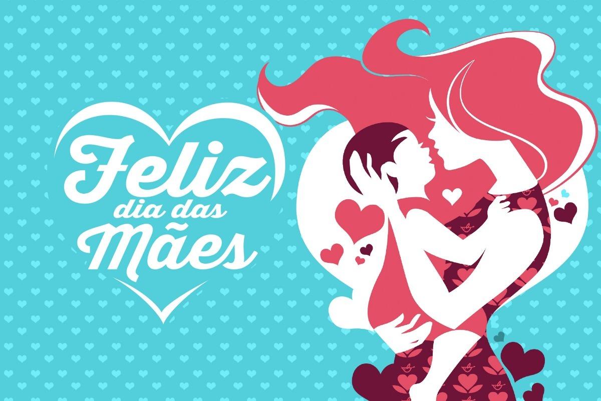 Painel Lona Fosca Feliz Dia Das Mães 01 200x150 R 8499 Em