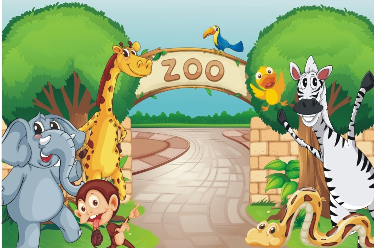 Painel Lona Safari Floresta Animais Desenho Festa Infantil R 75
