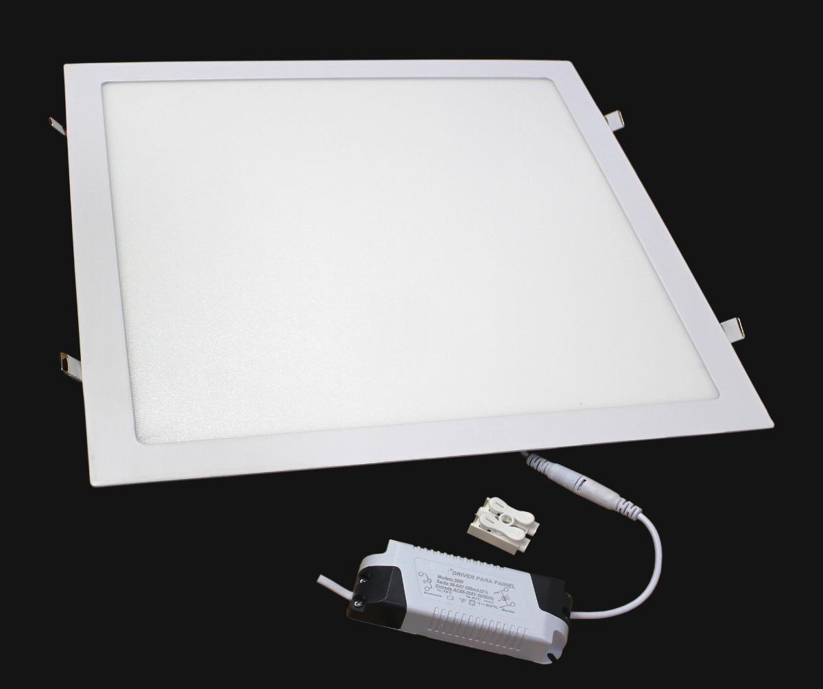 Painel Luminária Led 36w 40×40 Embutir Classe Aaa 3000k To R$ 179,99 em Mercado Livre