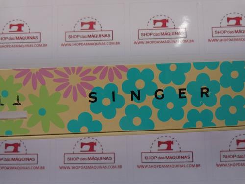 painel maquina de costura singer bobina mágica facilita 268