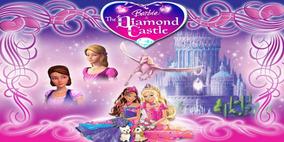 37fb9236bb Vestido De Festa Da Barbie Castelo De Diamante no Mercado Livre Brasil