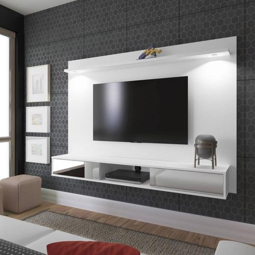 painel para tv até 47 polegadas 2 portas com espelho ji