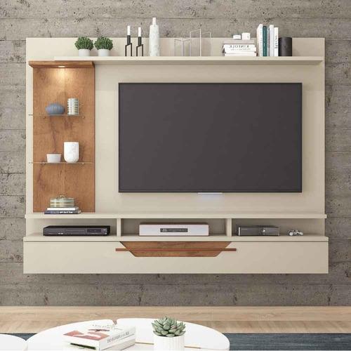 painel para tv de 60 polegadas londres permobili off whi/sav