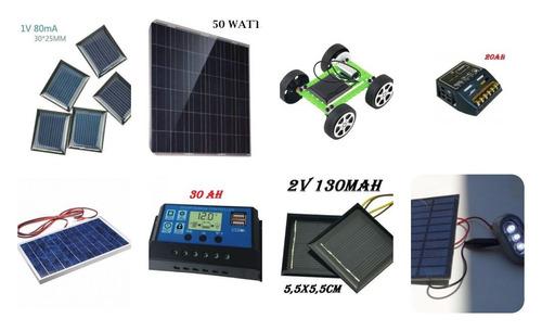 painel placa célula energia solar fotovoltaica 12v 10w watts
