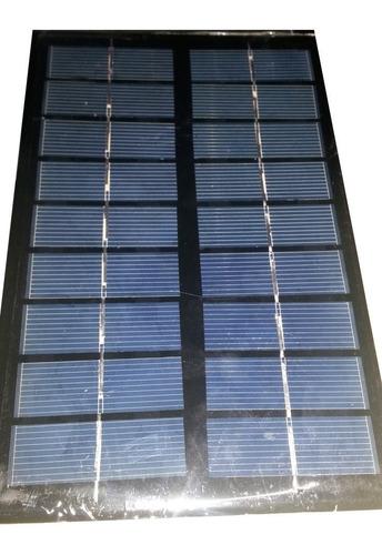 painel placa célula energia solar fotovoltaica 3w -6v- 0.5a