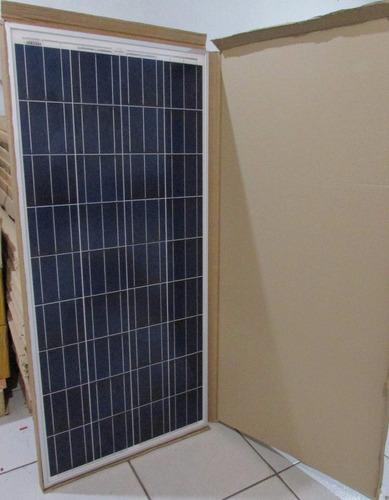 painel placa celula solar fotovoltaica 140w promoção
