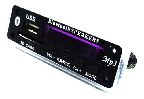 painel placa decodificador bluetooth + amplificador de áudio