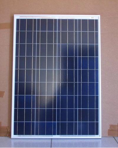 painel placa energia solar 100w + controlador + kit cabos