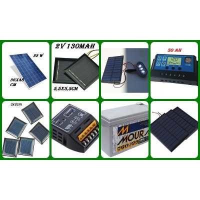 painel placa energia solar fotovoltaica  30w watts 1.71ah
