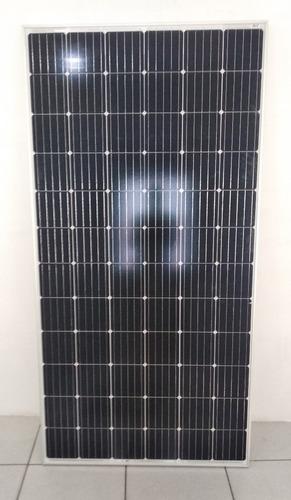 painel placa solar 360w + controlador 30a lcd + cabos