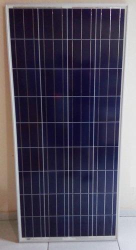 painel placa solar celula fotovoltaica 150w poucas unidades