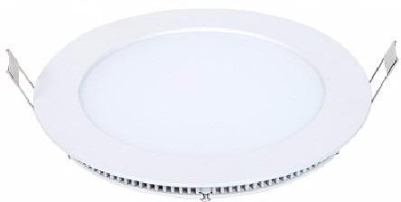 painel plafon 6w luminaria led slim redondo lampada embutir