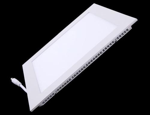 painel plafon luminaria led quadrado 6500k ultra slim 18w