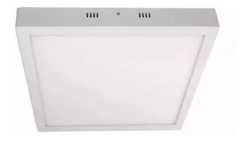 painel plafon luminaria led sobrepor 36w 40x40 bivolt oferta