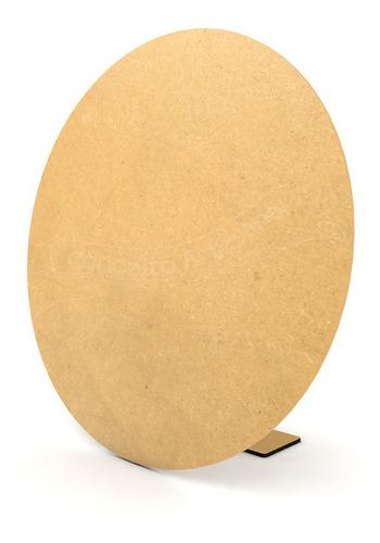 painel redondo de mesa desmontável mdf provençal 50cm