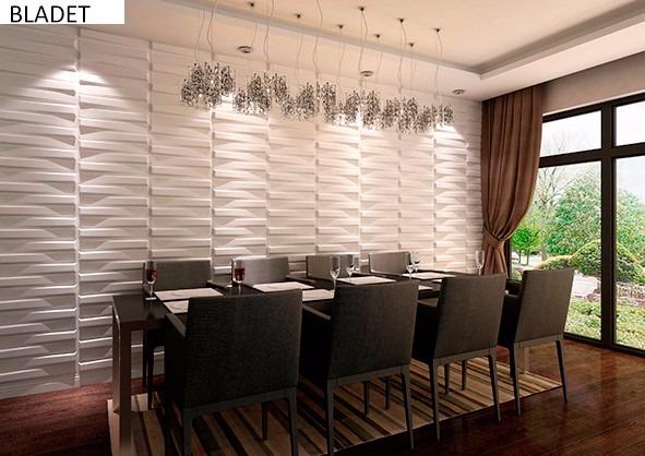 Painel revestimento 3d original fibra de bambu alto relevo - Placas decorativas para pared interior ...