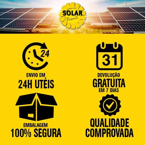 painel solar placa fotovoltaico 30 watts 12 volts komaes 30w