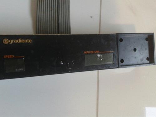 painel toca disco gradiente tt575