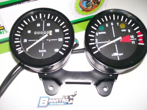 painel velocímetro tacômetro cg 125 bolinha ml turuna suport