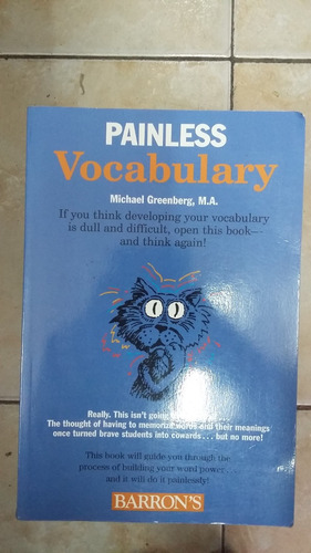 painless vocabulary - michael greenberg - barron's