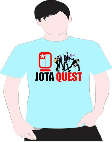 paint camiseta jota quest azul